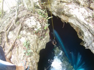 The Pit Cenote Mexico